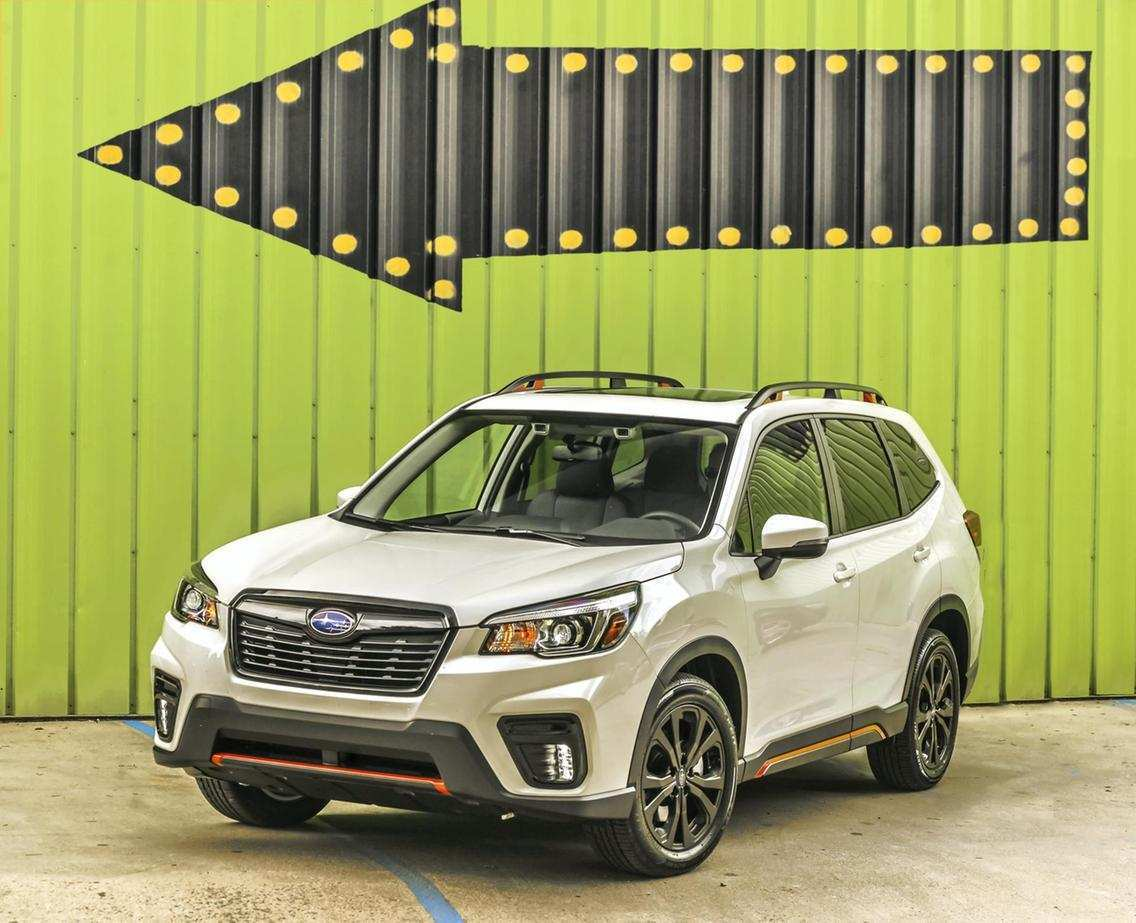 80 New 2019 Subaru Forester Design Reviews by 2019 Subaru Forester Design