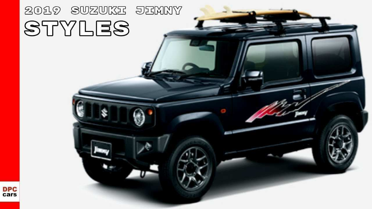 81 All New 2019 Suzuki Jimny New Concept by 2019 Suzuki Jimny