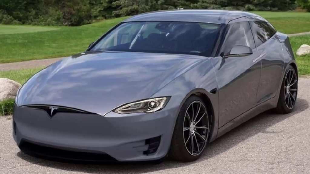 81 All New Tesla S 2019 Spy Shoot with Tesla S 2019