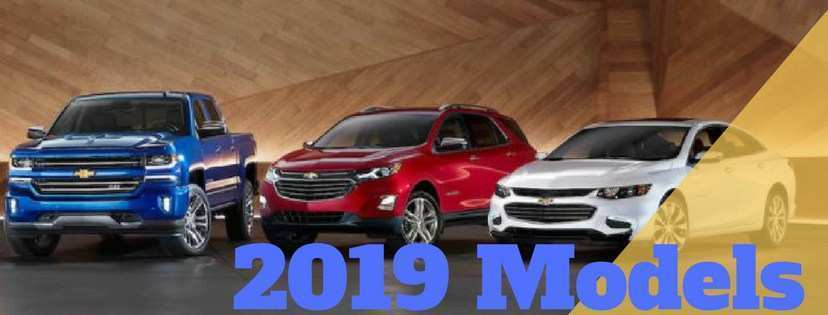81 Best Review 2019 Chevrolet Models Redesign for 2019 Chevrolet Models