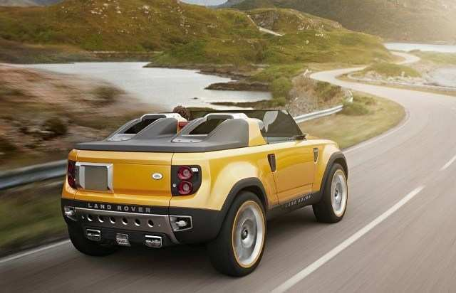 81 Best Review Land Rover Pickup 2019 New Review by Land Rover Pickup 2019