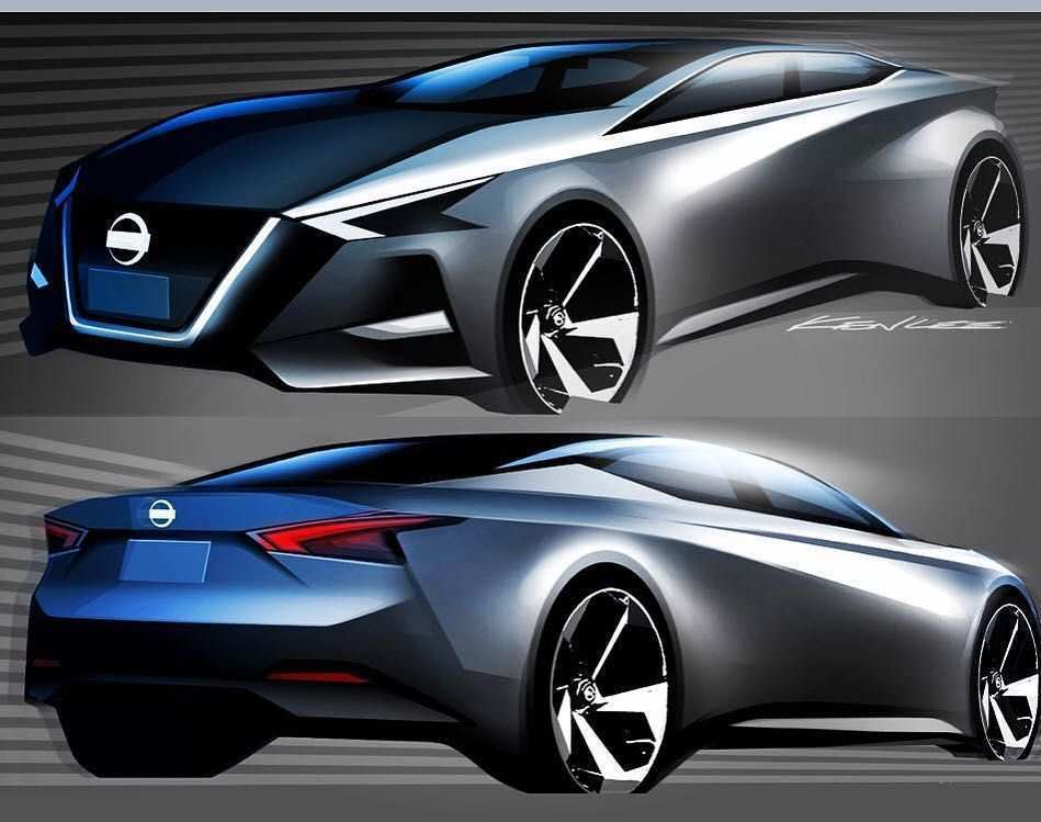 81 Great 2019 Nissan Altima Rendering Wallpaper with 2019 Nissan Altima Rendering