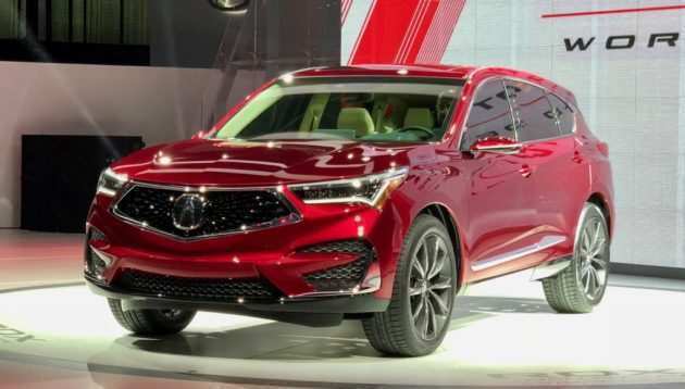 81 The 2019 Acura Rdx Spy Photos Exterior by 2019 Acura Rdx Spy Photos