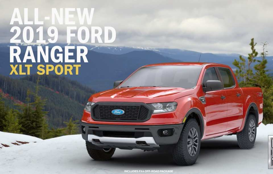 81 The 2019 Ford Ranger Dimensions Reviews with 2019 Ford Ranger Dimensions