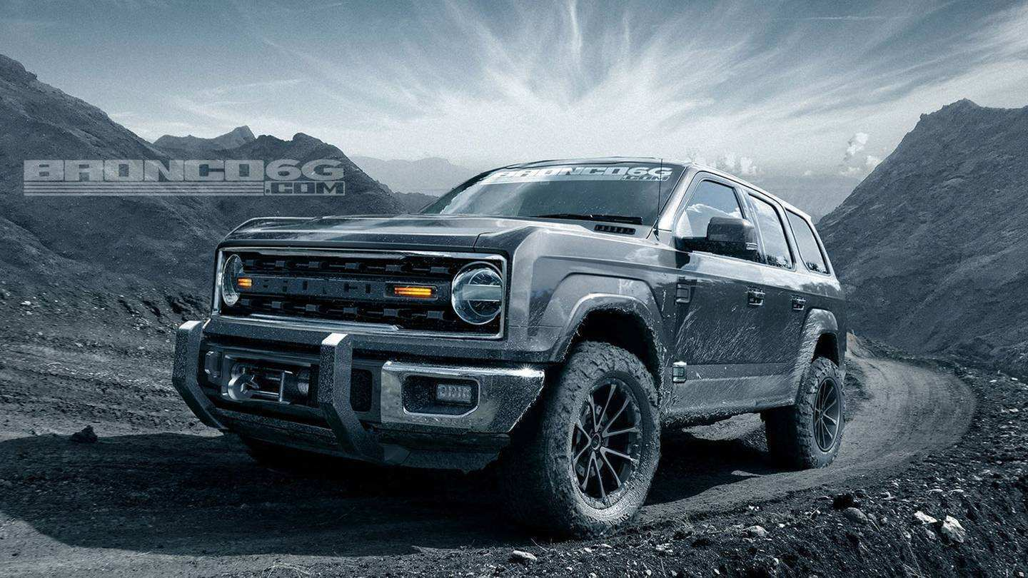 81 The 2020 Ford Bronco Look Exterior for 2020 Ford Bronco Look