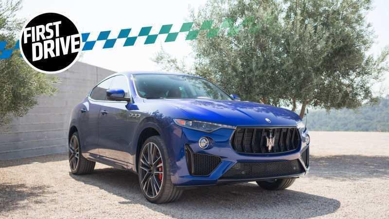 82 Concept of 2019 Maserati Levante Trofeo Picture for 2019 Maserati Levante Trofeo