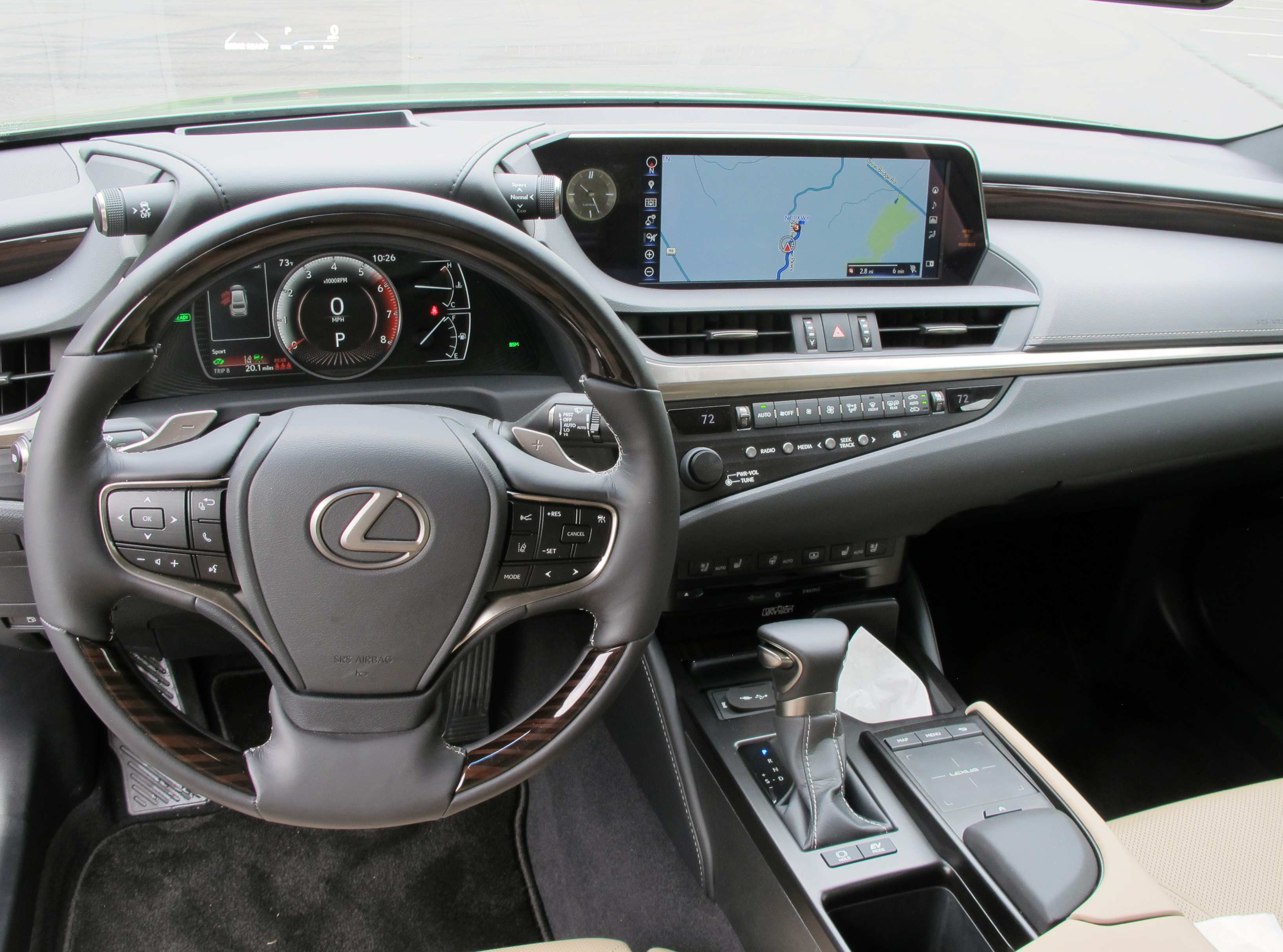 82 Gallery of 2019 Lexus Es Interior New Concept with 2019 Lexus Es Interior