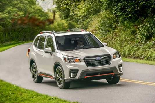 82 Gallery of 2019 Subaru Forester Sport Reviews by 2019 Subaru Forester Sport