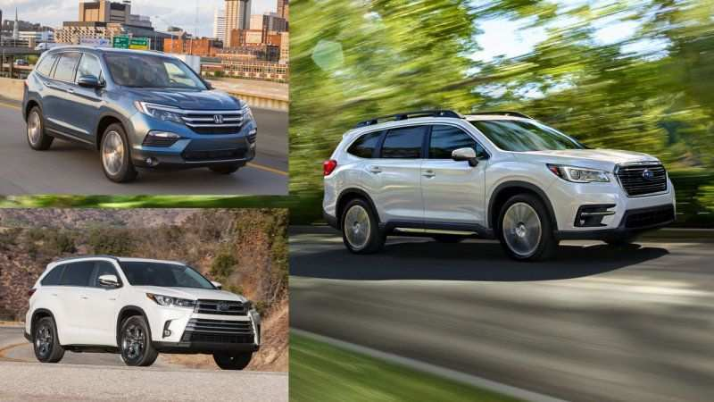 82 Great 2019 Subaru Ascent Vs Honda Pilot Vs Toyota Highlander Exterior for 2019 Subaru Ascent Vs Honda Pilot Vs Toyota Highlander