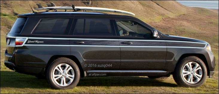82 The 2019 Jeep Grand Wagoneer Redesign with 2019 Jeep Grand Wagoneer