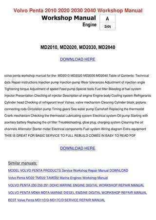 83 Best Review Volvo 2020 Marine Diesel Manual Interior for Volvo 2020 Marine Diesel Manual