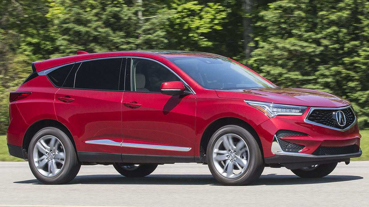 83 Great 2019 Acura Rdx Preview Overview with 2019 Acura Rdx Preview