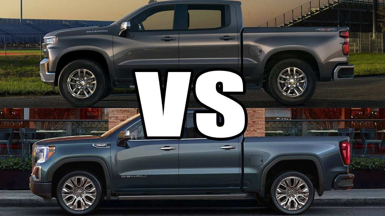 84 Best Review 2019 Gmc Vs Silverado Model by 2019 Gmc Vs Silverado