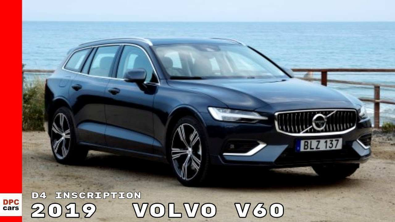84 Best Review 2019 Volvo V60 D4 New Concept for 2019 Volvo V60 D4