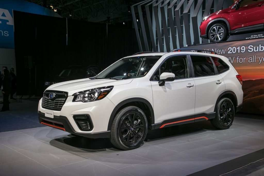 84 Gallery of 2019 Subaru Dimensions Exterior by 2019 Subaru Dimensions