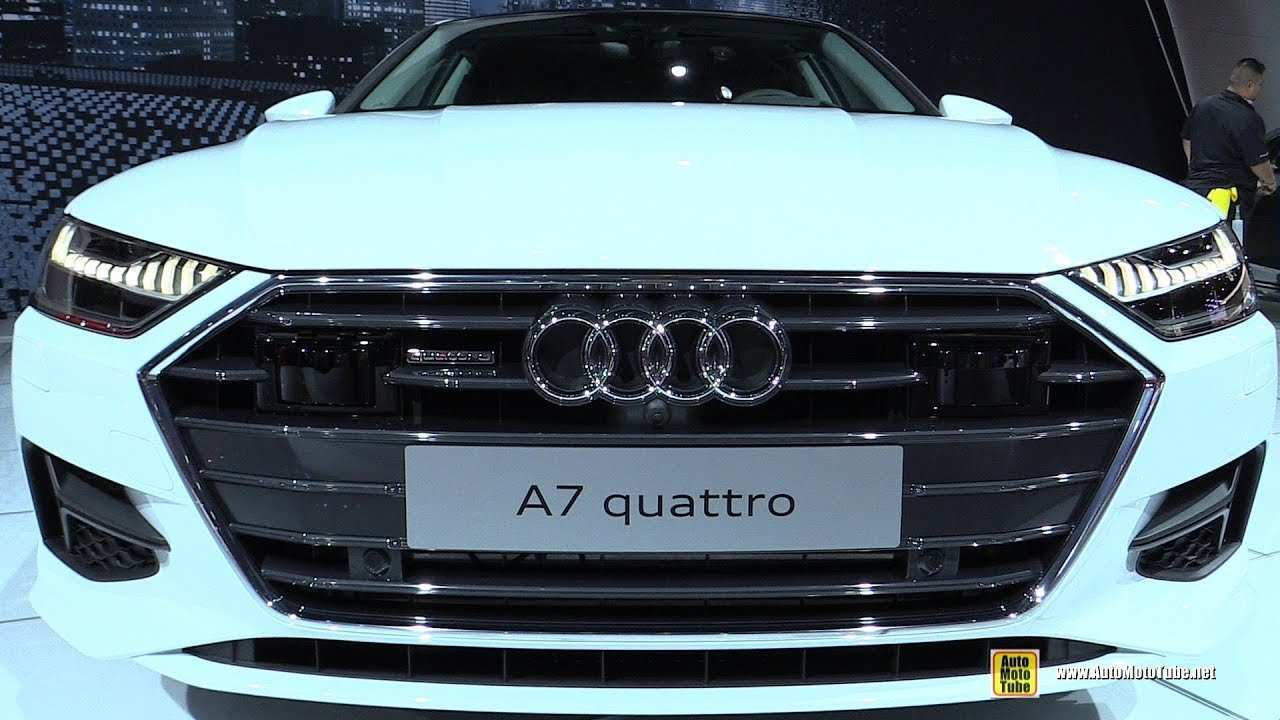 84 Great 2019 Audi A7 Frankfurt Auto Show Images with 2019 Audi A7 Frankfurt Auto Show