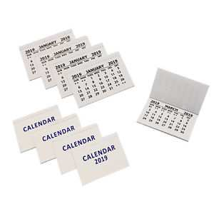 84 Great 2019 Mini Tear Off Calendar History with 2019 Mini Tear Off Calendar
