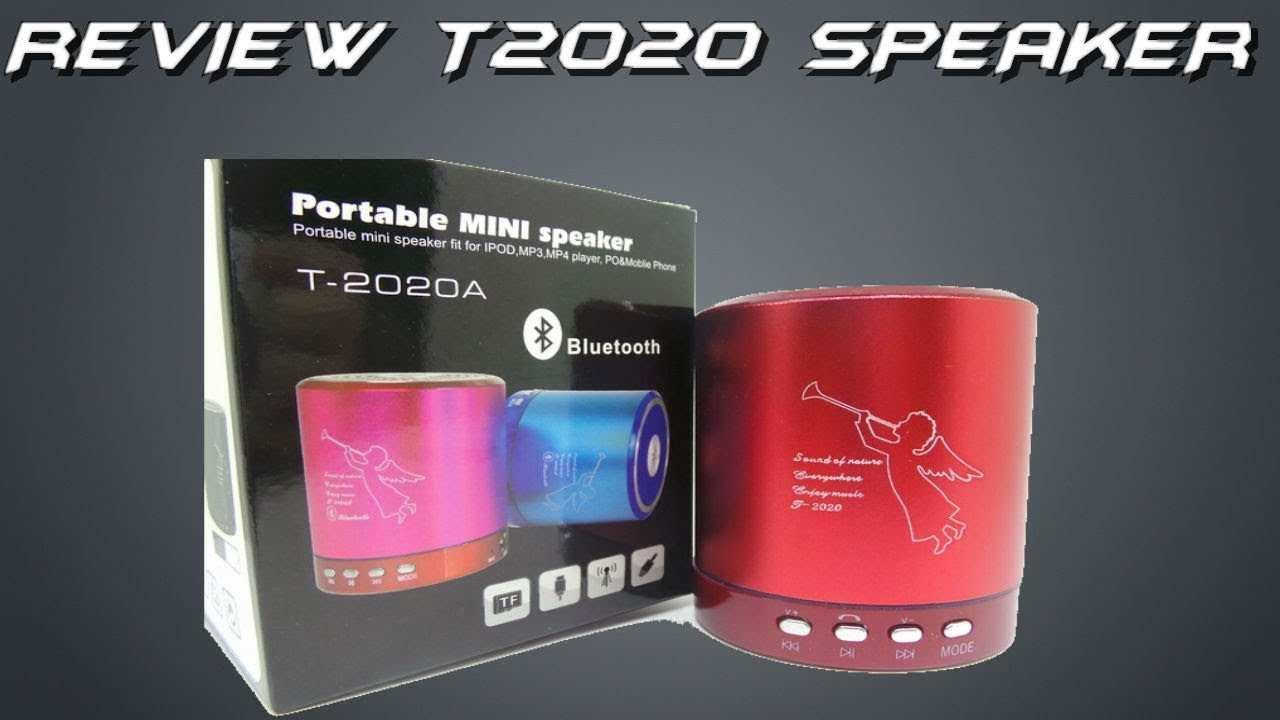 84 Great Portable Mini Speaker T2020 Speed Test by Portable Mini Speaker T2020