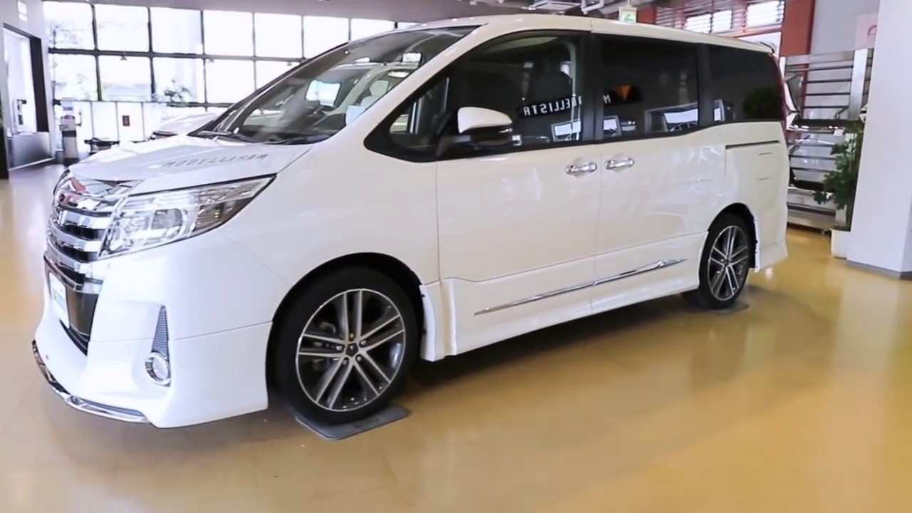 84 New 2019 Toyota Noah Exterior and Interior by 2019 Toyota Noah