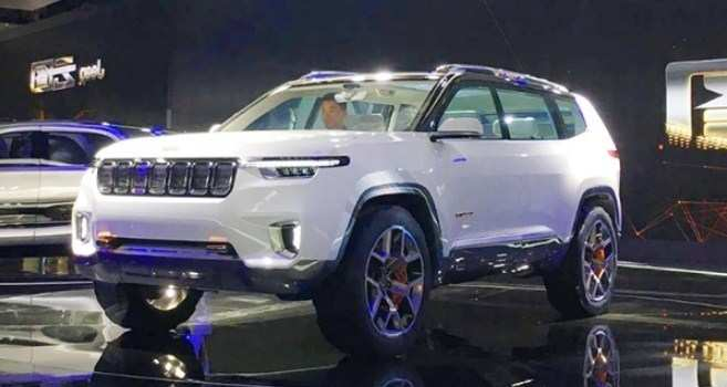 84 The 2020 Jeep Grand Cherokee Concept Model by 2020 Jeep Grand Cherokee Concept