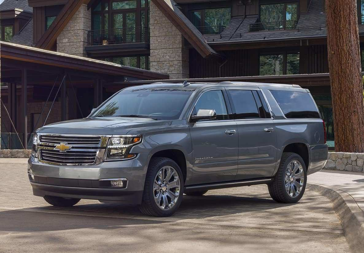 85 Best Review 2019 Chevrolet Suburban Redesign with 2019 Chevrolet Suburban