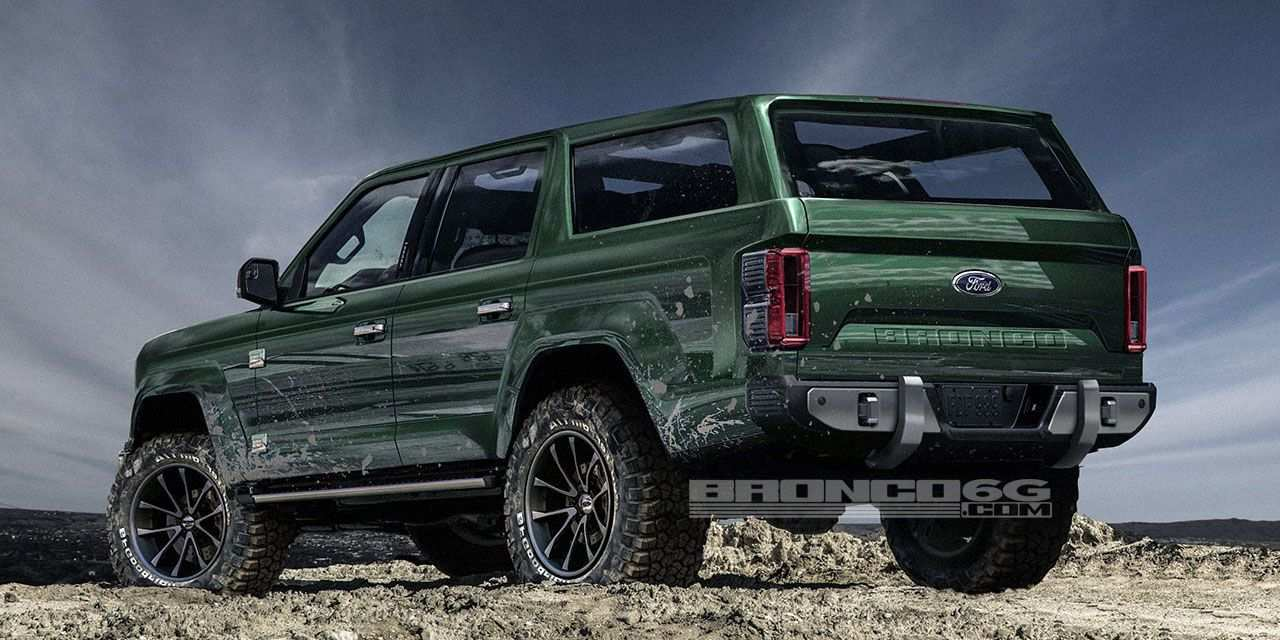 85 New 2019 Ford Bronco 4 Door Exterior and Interior by 2019 Ford Bronco 4 Door