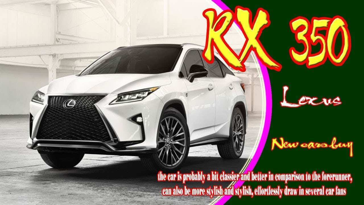 86 Great 2020 Lexus Rx Configurations with 2020 Lexus Rx
