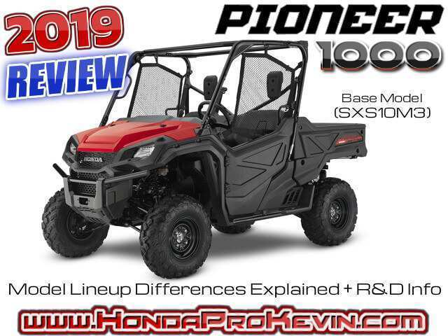 86 New 2019 Honda 1000 Pioneer Specs and Review for 2019 Honda 1000 Pioneer