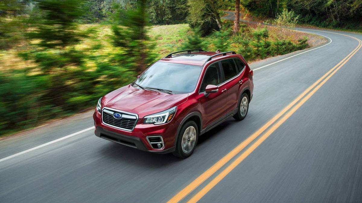 87 All New 2019 Subaru Forester Design Review for 2019 Subaru Forester Design