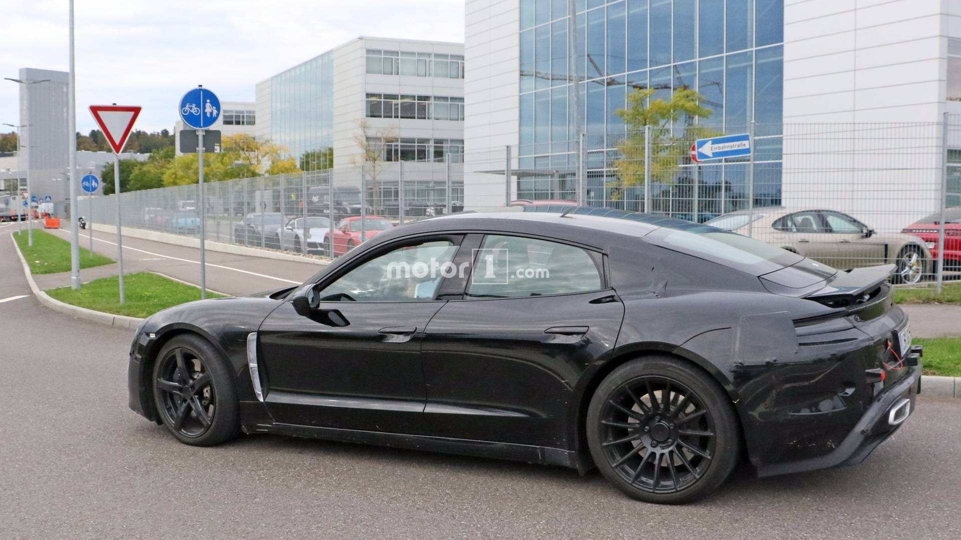 87 All New 2020 Porsche Mission E Electric Sedan Spied Testing Alongside Teslas Exterior and Interior with 2020 Porsche Mission E Electric Sedan Spied Testing Alongside Teslas