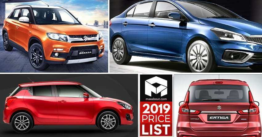 87 Great 2019 Suzuki Cars Spy Shoot for 2019 Suzuki Cars