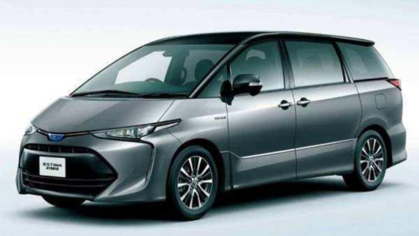 87 New 2019 Toyota Estima Specs with 2019 Toyota Estima