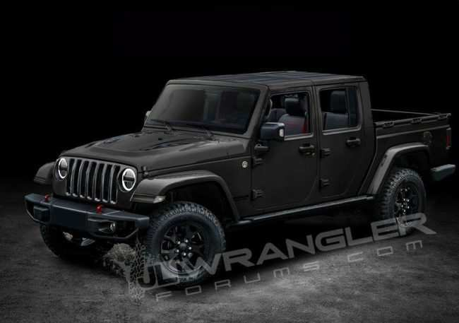 87 The 2019 Jeep Pickup Diesel Redesign and Concept by 2019 Jeep Pickup Diesel