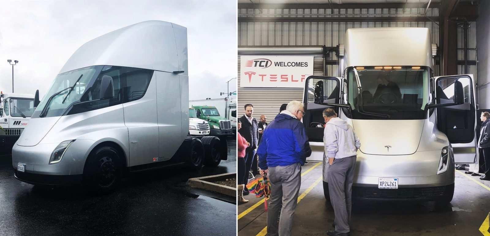 87 The 2019 Tesla Semi Truck New Review by 2019 Tesla Semi Truck