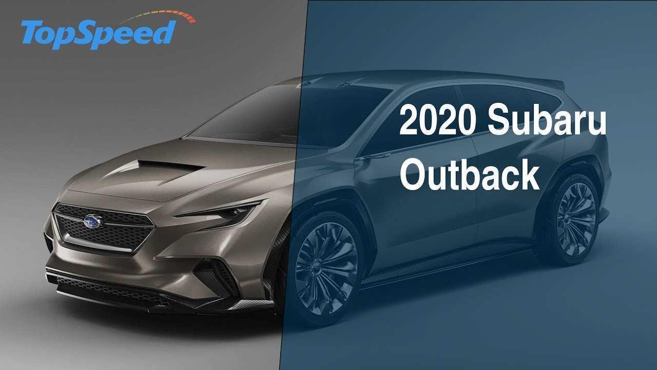 87 The 2020 Subaru Outback Wagon Style with 2020 Subaru Outback Wagon