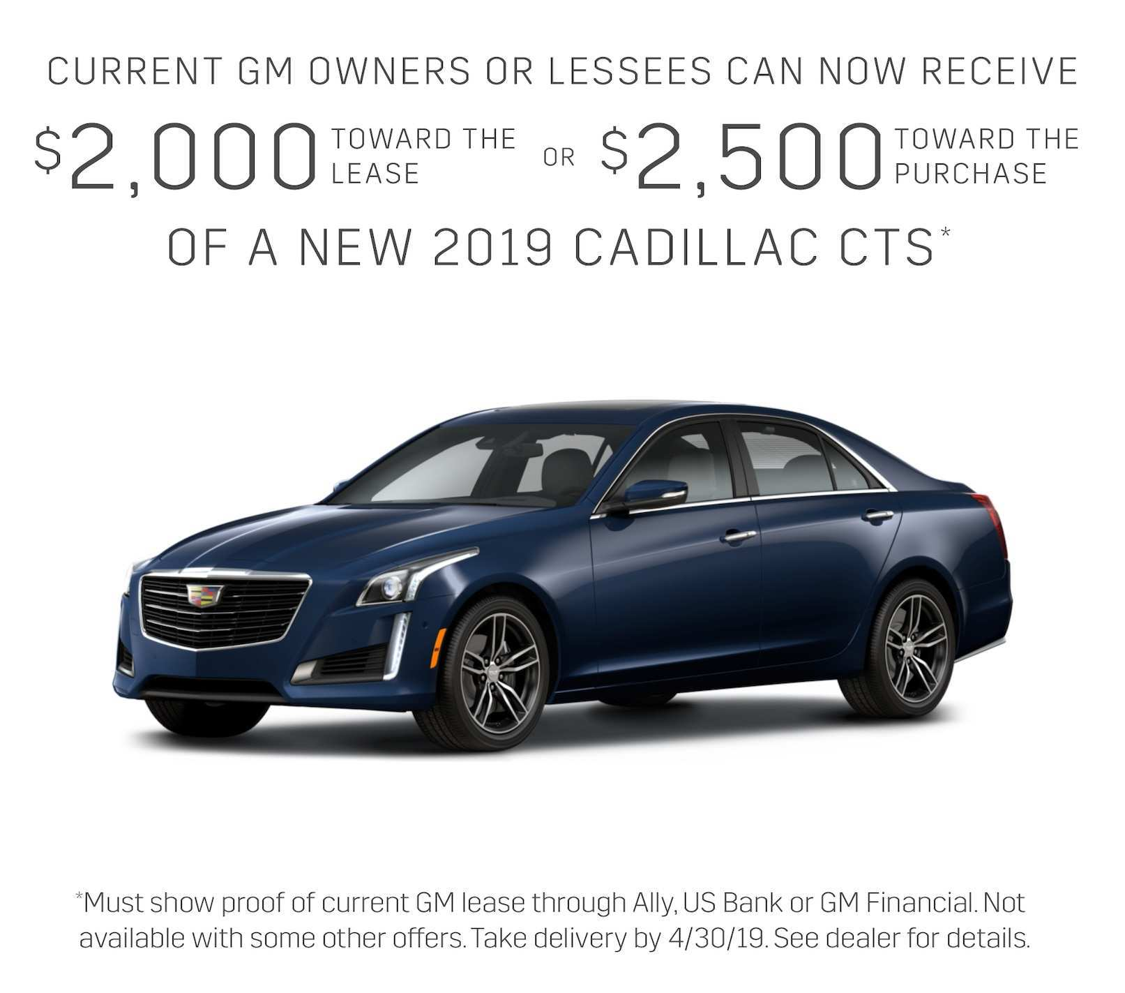 88 All New 2019 Cadillac Lease Pictures with 2019 Cadillac Lease
