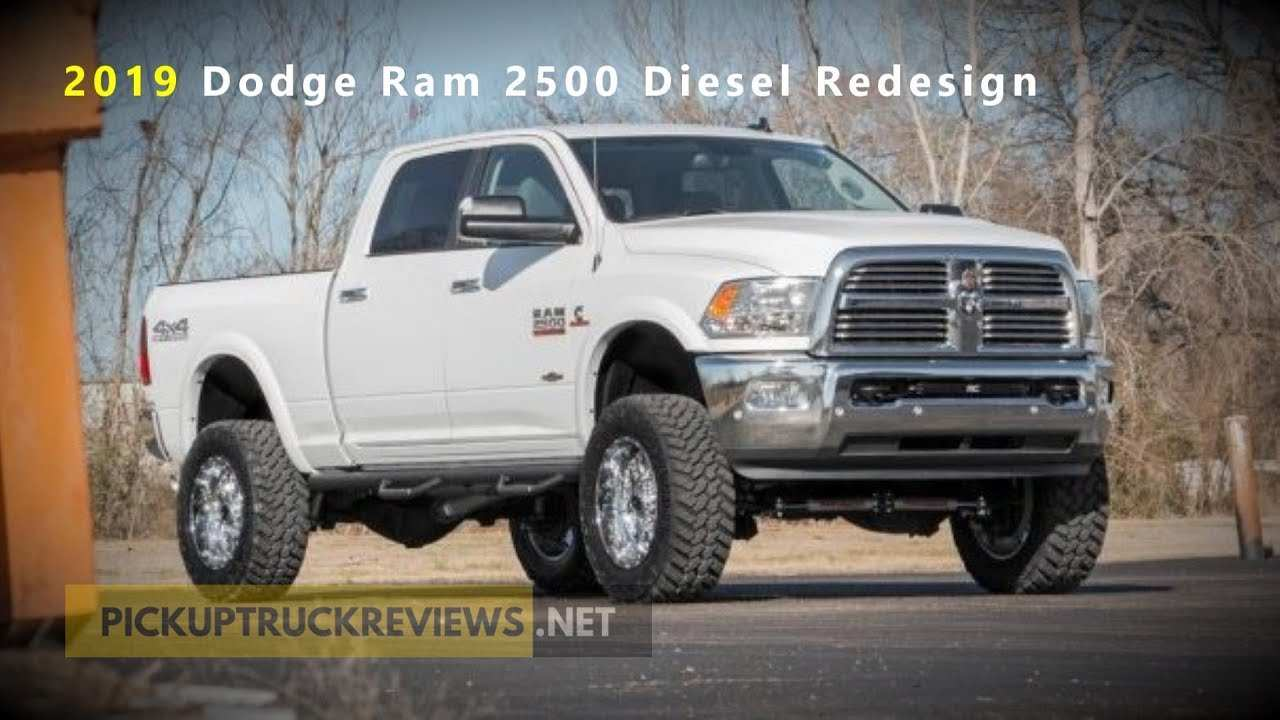 88 All New 2019 Dodge 3 4 Ton Diesel Specs and Review with 2019 Dodge 3 4 Ton Diesel