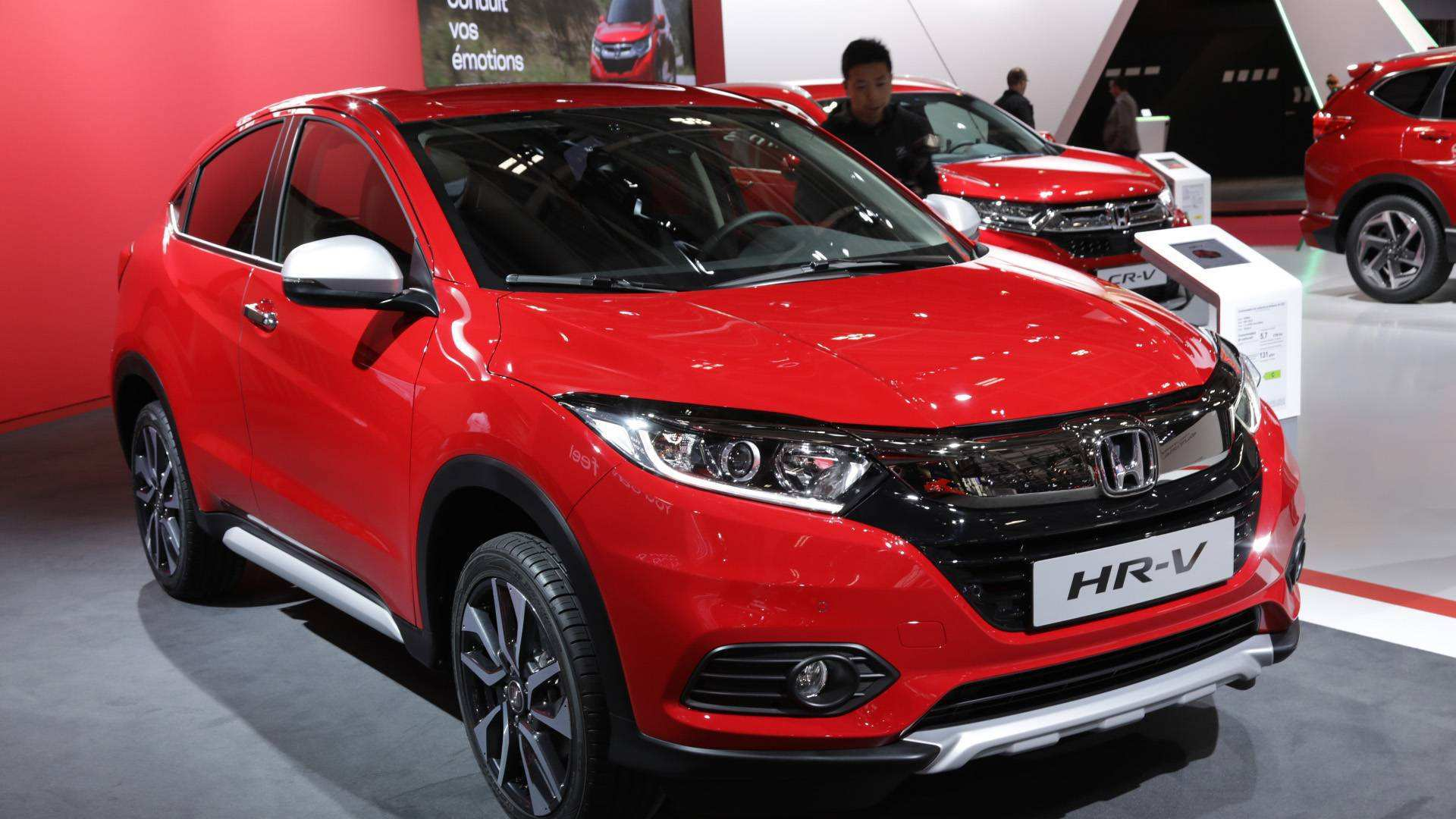 88 All New 2019 Honda Hrv Redesign New Concept with 2019 Honda Hrv Redesign