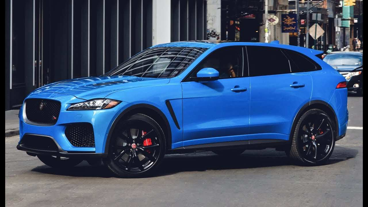88 Great 2019 Jaguar F Pace Svr Price and Review with 2019 Jaguar F Pace Svr