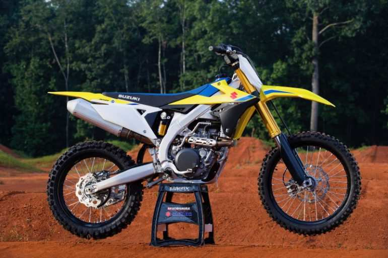 88 New 2019 Suzuki 250F Spy Shoot by 2019 Suzuki 250F
