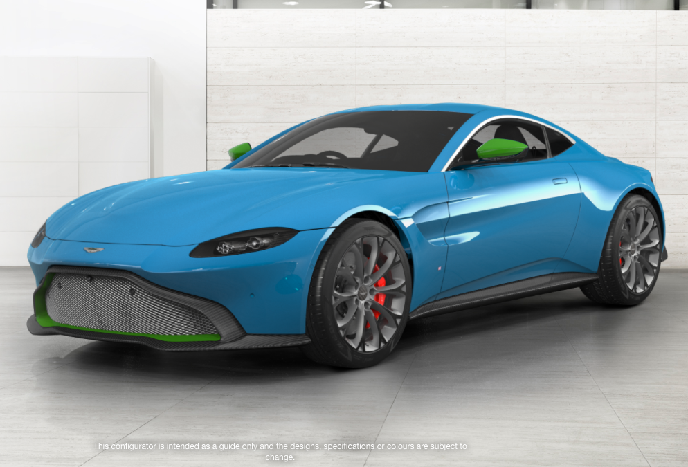 88 The 2019 Aston Martin Vantage Configurator Research New by 2019 Aston Martin Vantage Configurator