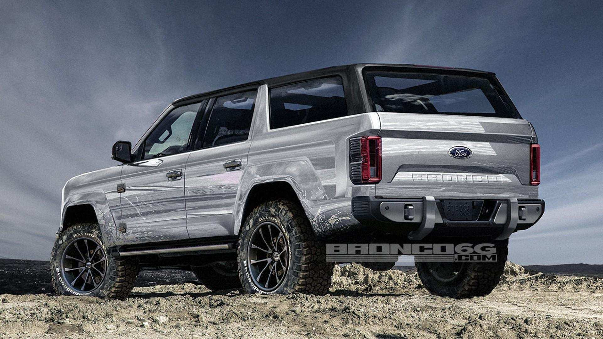 89 The 2020 Ford Bronco 6G Research New by 2020 Ford Bronco 6G