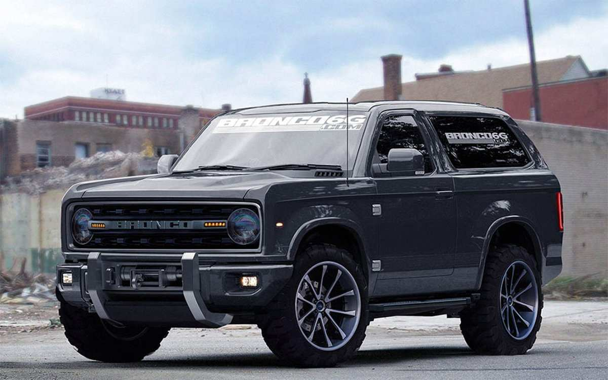 90 Concept of Ford Bronco 2020 4 Door Rumors by Ford Bronco 2020 4 Door