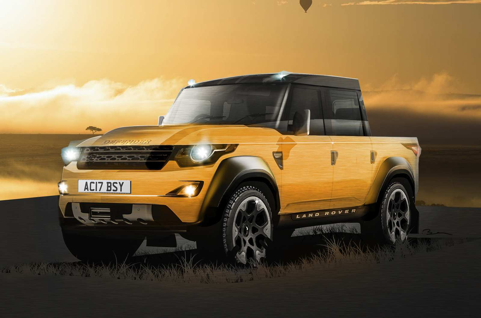 90 Concept of Land Rover Pickup 2019 Release Date with Land Rover Pickup 2019