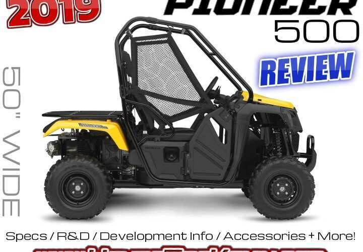 90 Gallery of 2019 Honda Pioneer 500 Release Date for 2019 Honda Pioneer 500