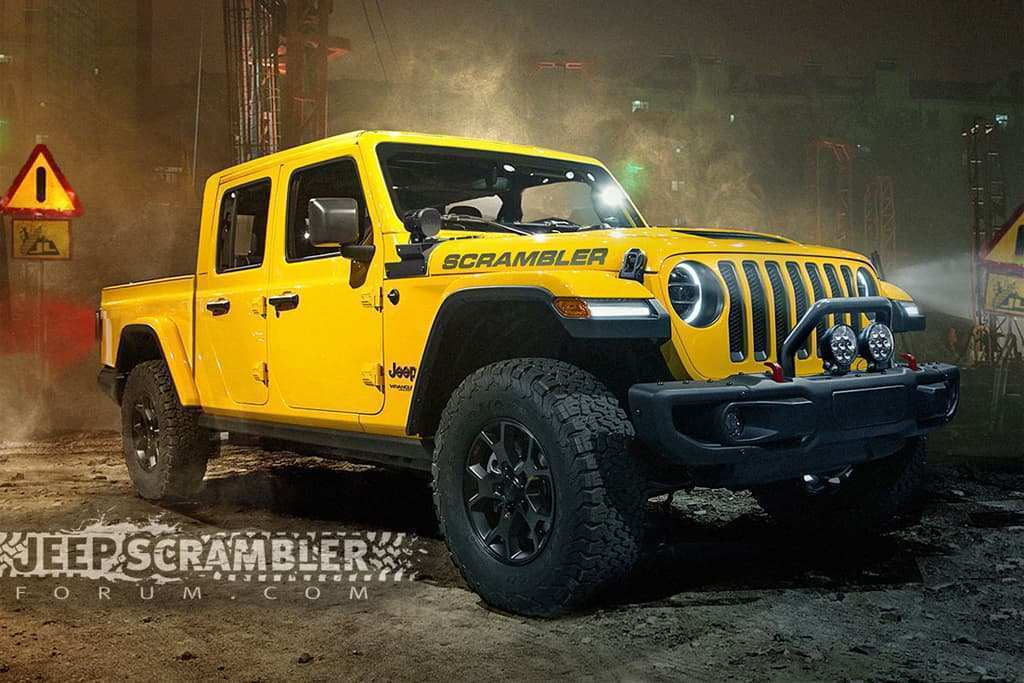 90 New 2019 Jeep Ute Exterior with 2019 Jeep Ute