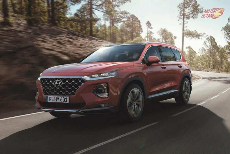 90 The 2019 Hyundai Santa Fe Launch New Review by 2019 Hyundai Santa Fe Launch