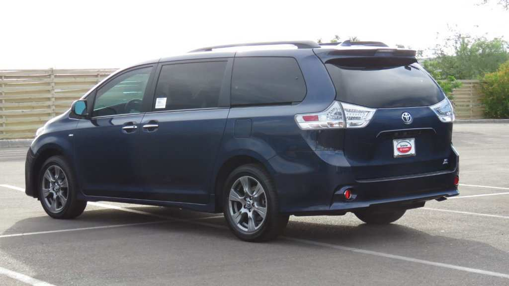 90 The 2019 Toyota Sienna Se Exterior and Interior with 2019 Toyota Sienna Se