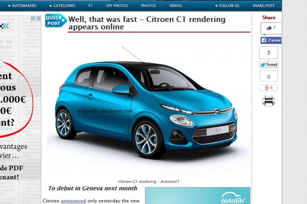 91 All New Citroen C1 2020 Ratings with Citroen C1 2020