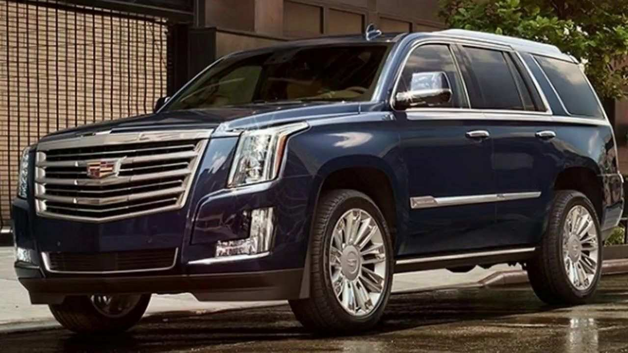 91 Concept of 2019 Cadillac Escalade Redesign Performance and New Engine for 2019 Cadillac Escalade Redesign